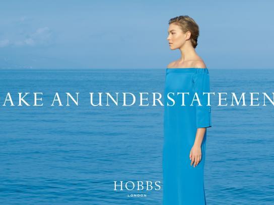 Hobbs Print Ad -  Make an understatement, 1