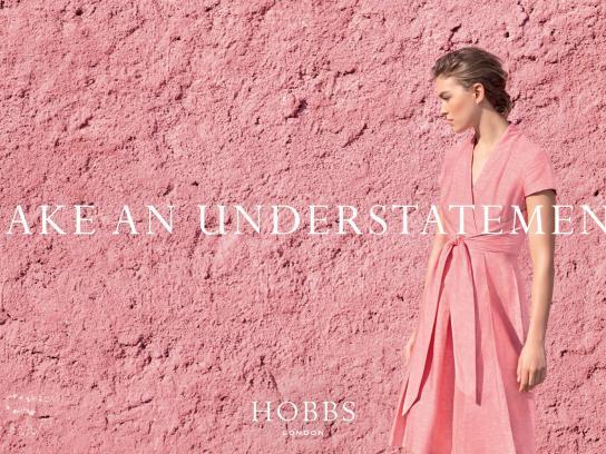Hobbs Print Ad -  Make an understatement, 3