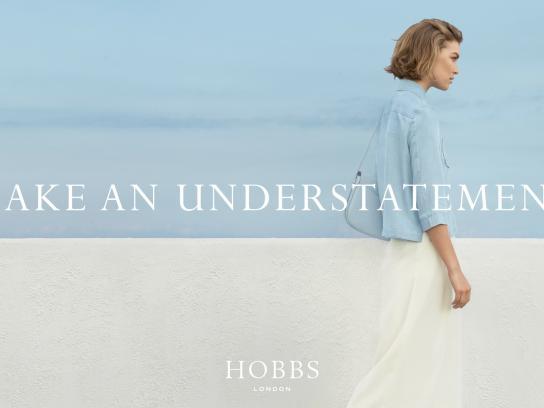 Hobbs Print Ad -  Make an understatement, 4
