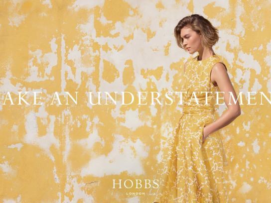Hobbs Print Ad -  Make an understatement, 5