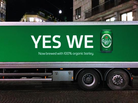 Carlsberg Outdoor Ad -  Yes we can