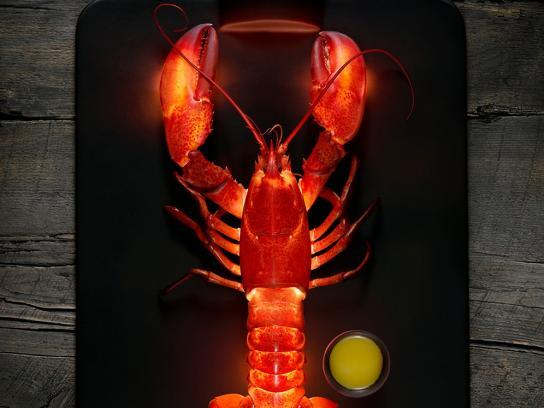 Fédération des producteurs de lait du Québec Outdoor Ad -  Lobster