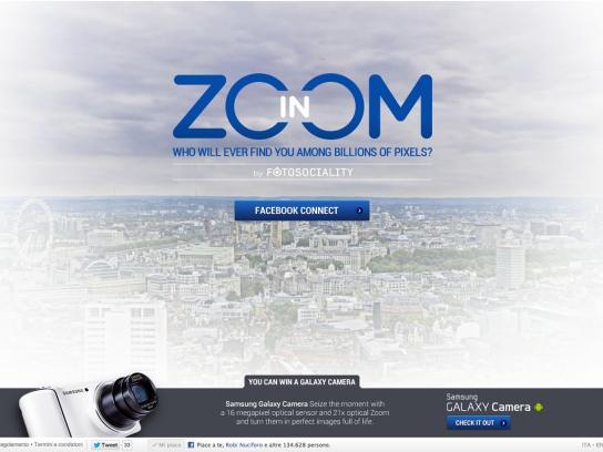 Samsung Digital Ad -  Zoom-in by Fotosociality
