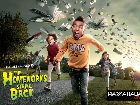 Piazza Italia Print Ad -  Back To School, 5