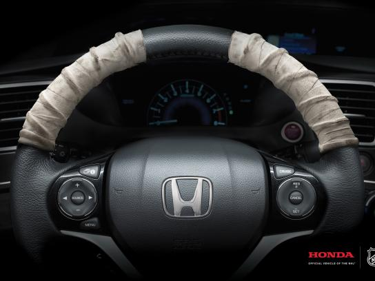 Honda Print Ad -  Official vehicle of the NHL