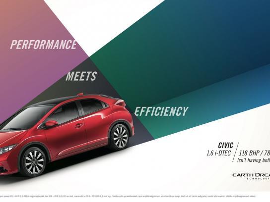 Honda Print Ad -  Isn't having both better, 1