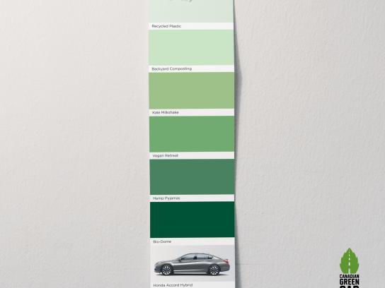 Honda Print Ad -  Greenest
