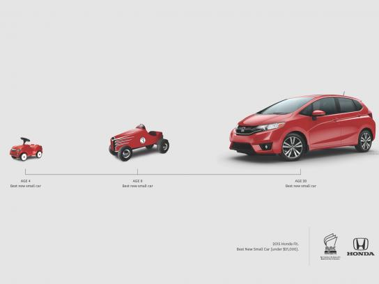 Honda Outdoor Ad -  Best new small car