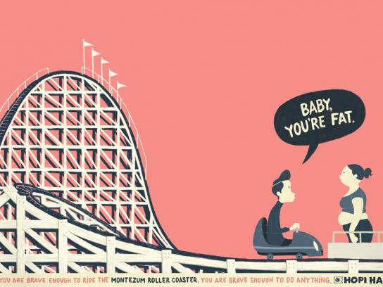 Hopi Hari Theme Park Print Ad -  Fat