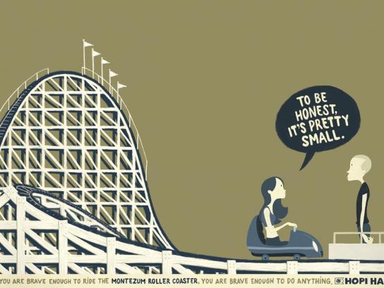 Hopi Hari Theme Park Print Ad -  Small