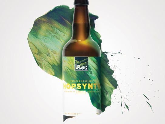 Upland Print Ad - Hopsynth
