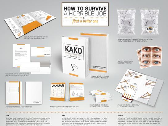 Poslovi.Infostud.com Direct Ad -  Horrible job survival kit