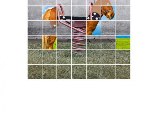 Westdeutsche Lotterie Outdoor Ad -  Horse