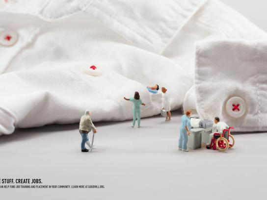 Goodwill Print Ad - Hospital