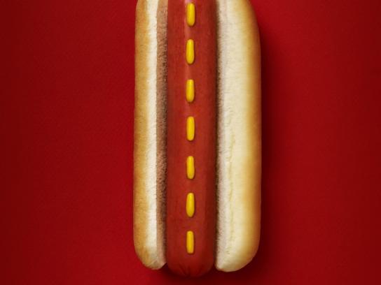 7-Eleven Print Ad -  Hot Dog Highway