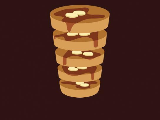 McDonald's Print Ad -  Hotcakes