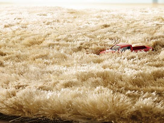 Hot Wheels Print Ad -  Grass