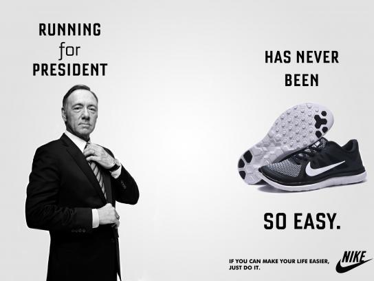 Nike Print Ad - House of Cards