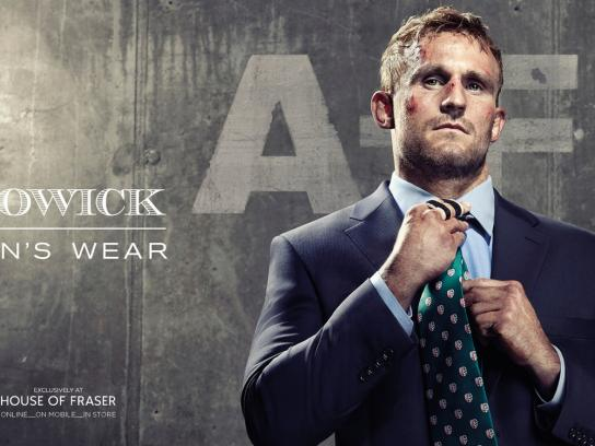 Howick Print Ad -  Man's Wear, 1