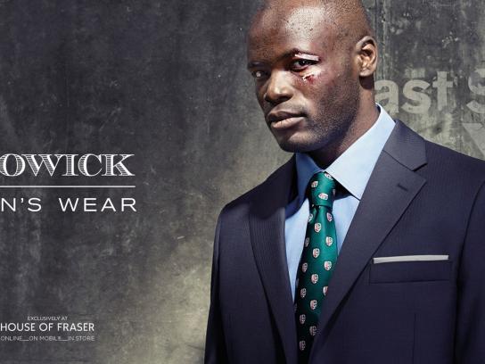 Howick Print Ad -  Man's Wear, 2