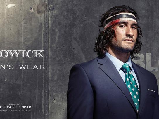 Howick Print Ad -  Man's Wear, 3