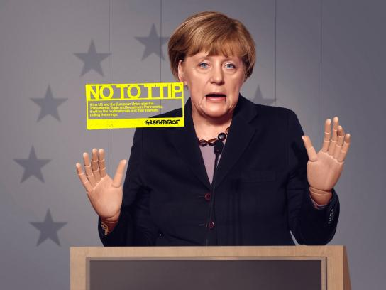 Greenpeace Print Ad - Puppet, 1