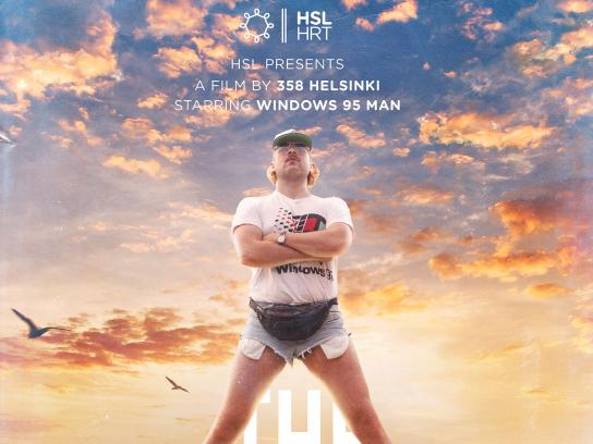 Helsinki Region Transport Print Ad - The City Bike Movie