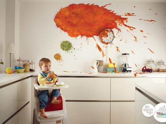 Huggies Print Ad -  Messy thoughts, 1