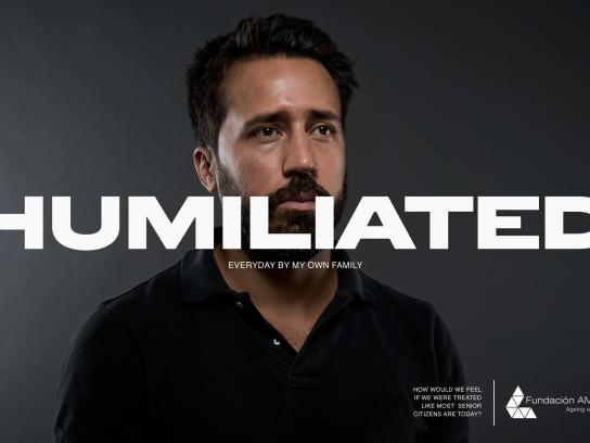 AMA 34 Foundation Print Ad - Humiliated