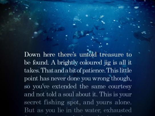 Hutchwilco Print Ad -  Secret Fishing Spots, 3
