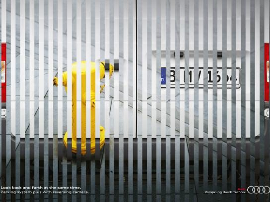 Audi Print Ad -  Back an Forth, Hydrant