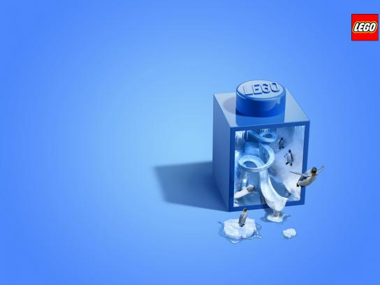 Lego Print Ad -  Ice Age