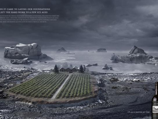 Wynns Coonawarra Estate Print Ad -  Ice Age