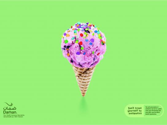 Daman Print Ad - Ice Cream