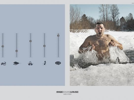 Magic Sound Print Ad -  Iced