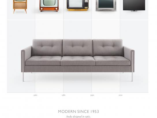 Ligne Roset Print Ad -  Pierre Paulin Modern since 1953, 3