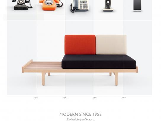 Ligne Roset Print Ad -  Pierre Paulin Modern since 1953, 1