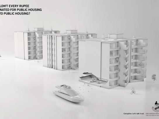 The Indian Debating Union Print Ad -  Housing