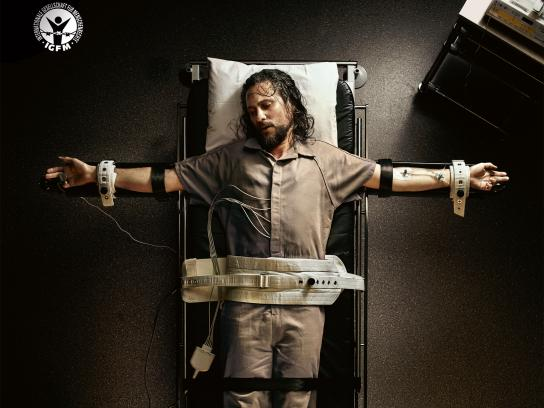 International Society for Human Rights Print Ad - Jesus