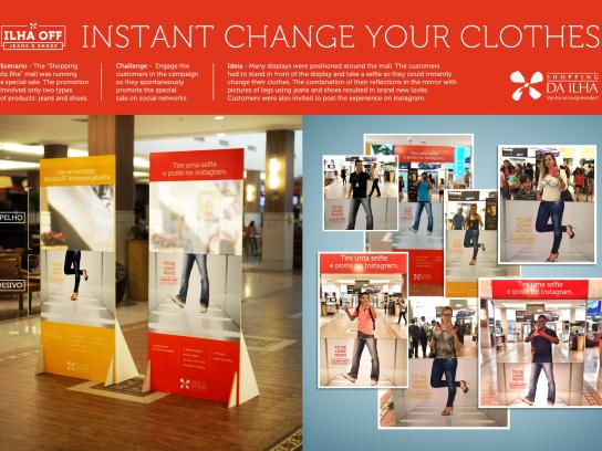 Shopping da Ilha Ambient Ad -  Instant change