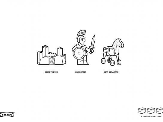 IKEA Print Ad -  Kassett
