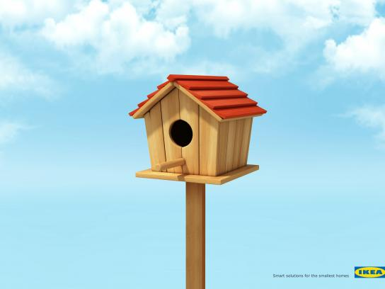 IKEA Print Ad - Smart Solution - Bird House