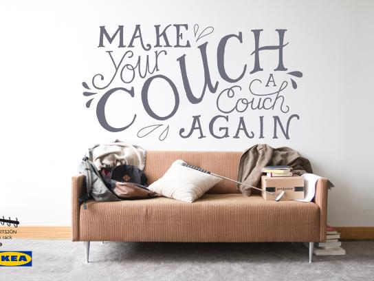 IKEA Print Ad - Couch