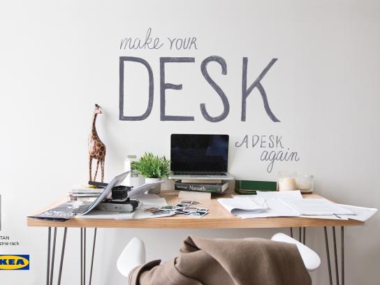 IKEA Print Ad - Desk