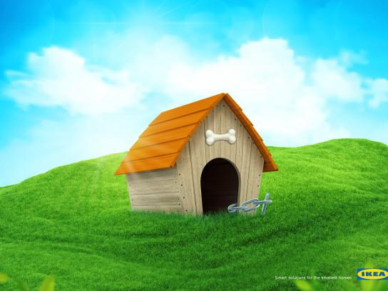 IKEA Print Ad - Smart Solution - Dog House