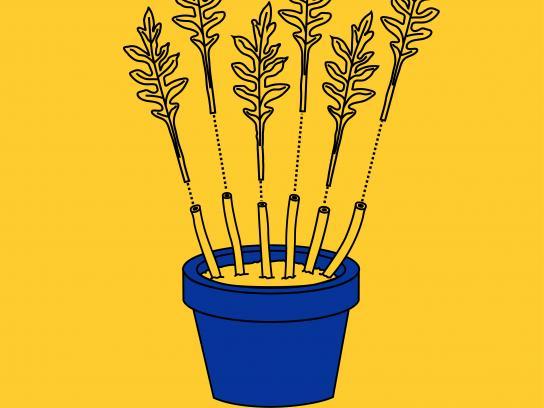 IKEA Print Ad - Easy Gardening, 2