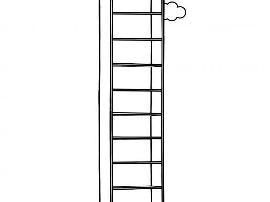 IKEA Print Ad -  Obituary - shelf to heaven
