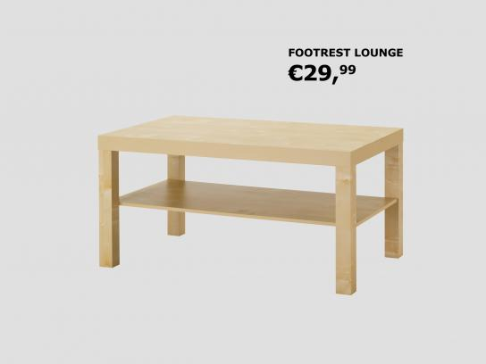 IKEA Print Ad - Footrest Lounge