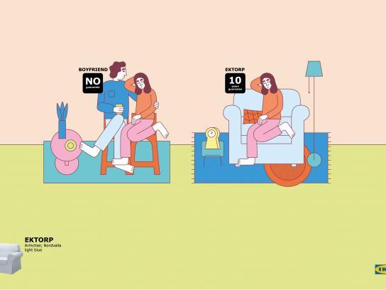 IKEA Print Ad - Boyfriend