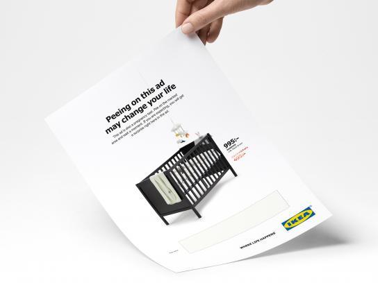 IKEA Print Ad - IKEA Pee Ad